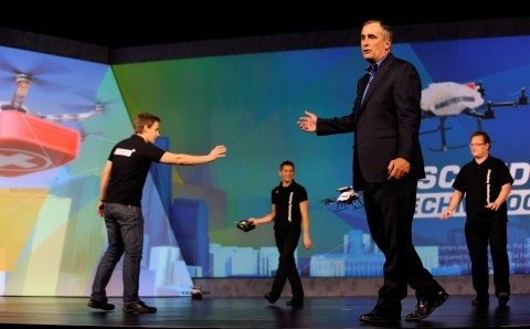 Intel CEO Brian Krzanich will deliver the CES 2016 pre-show keynote address, highlighting the key trends on how amazing experiences will be made possible by technology. (Photo: Business Wire)