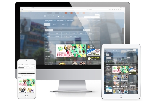 FROM JAPAN Has Adopted a New Responsive Website, Enabling Customers in 193 Countries and Regions Around the World to Shop from Japan on Whatever Device Whenever They Want (Photo: Business Wire)