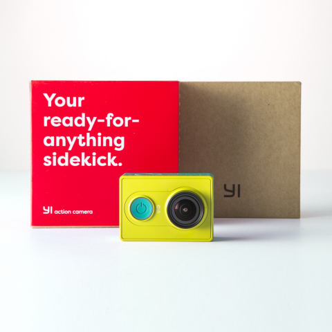 The YI action camera (Photo: Business Wire)