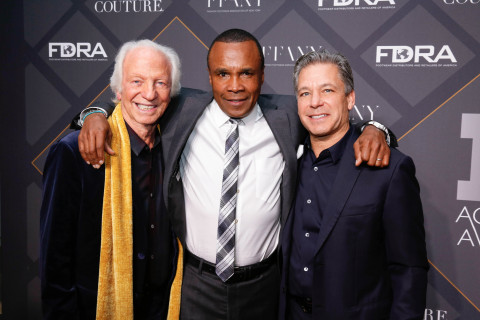 Robert Greenberg, Sugar Ray Leonard and Michael Greenberg (Photo: Business Wire)