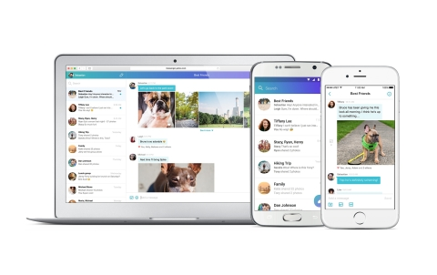 The new Yahoo Messenger (Photo: Business Wire)