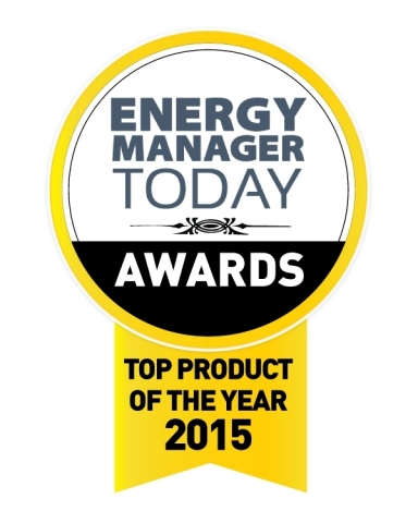 GridPoint Energy Management System receives Top Product of the Year Award from Energy Manager Today. (Graphic: Business Wire)