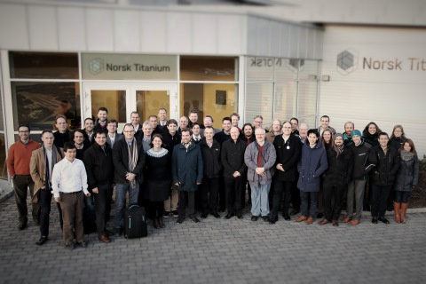 Europe's Top Air & Space Companies Hold Additive Manufacturing Summit at Norsk Titanium (Photo: Business Wire)
