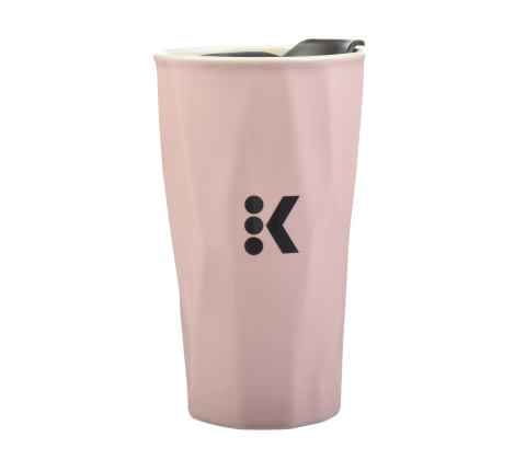 Keurig® Travel Mug in the PANTONE® Color of the Year 2016 selections: Rose Quartz (Photo: Business Wire)