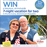 New Friends have the chance to win a 7-day, all-inclusive trip to the Dominican Republic courtesy of Vision Travel if they register before December 31st. (Graphic: Business Wire)