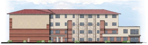 Rendering of St. Michael's Veterans Center Phase II in Kansas City. (Graphic: Business Wire)