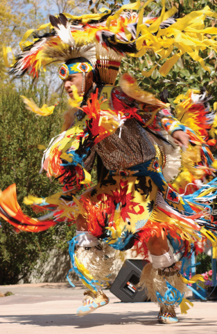 Through song, dance and storytelling during free noontime performances January through March, Native Trails will share with audiences a message passed on to tribal youth - the importance of preserving and conserving the land and its resources. (Photo: Business Wire)