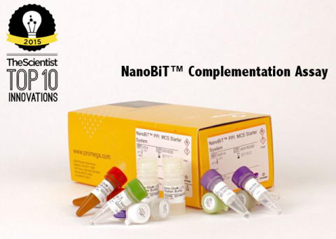 NanoBiT™ PPI Starter Systems contain materials required to build a NanoBiT assay. (Photo: Business W ...