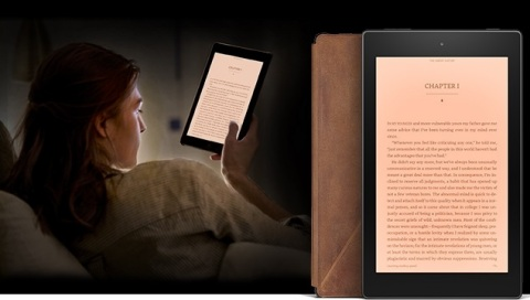 Fire HD 8 Reader's Edition. (Photo: Business Wire)