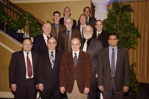 2015 IEEE-SA Awards Recipients from top, left to right - Mick Seaman, Steve Balakirsky, Eldad Perahi ...