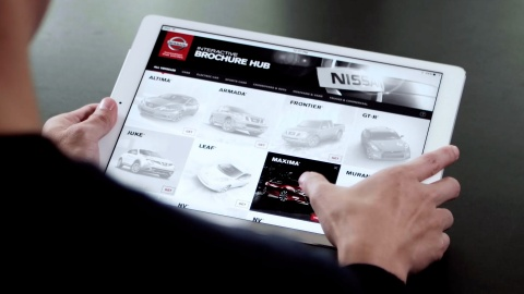Nissan launches Interactive Brochure Hub app (Photo: Business Wire)