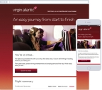 Virgin Atlantic's Email Remarketing Campaign (Graphic: Business Wire)