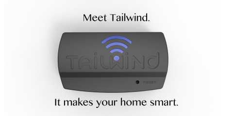 Tailwind Launches Tech Gadget for Smart Home Automation on Kickstarter (Photo: Business Wire)