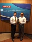 "Plexus receiving their ""Bronze Package"" award (Photo: Digi-Key)"