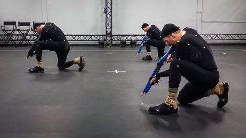 'Halo 5: Guardians' mocap shoot at Microsoft's 343 Industries (Photo: Business Wire)