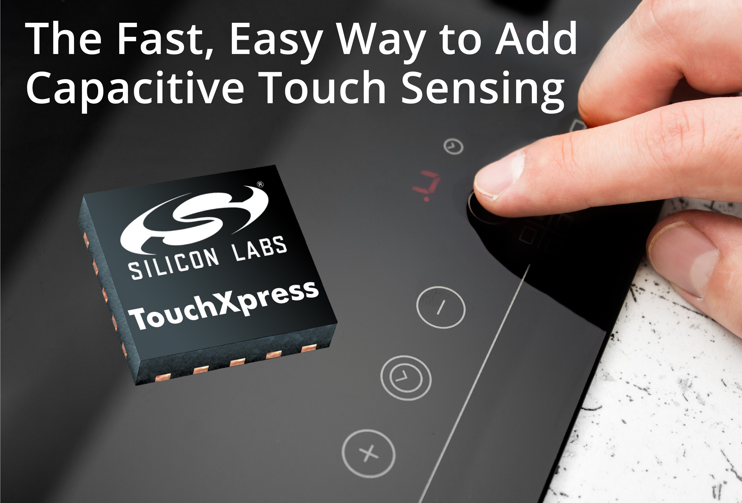 TouchXpress Controllers from Silicon Labs Speed Development of