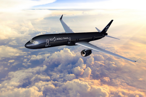 TCS World Travel Private Jet - Photo Credit: TCS World Travel (Photo: Business Wire)