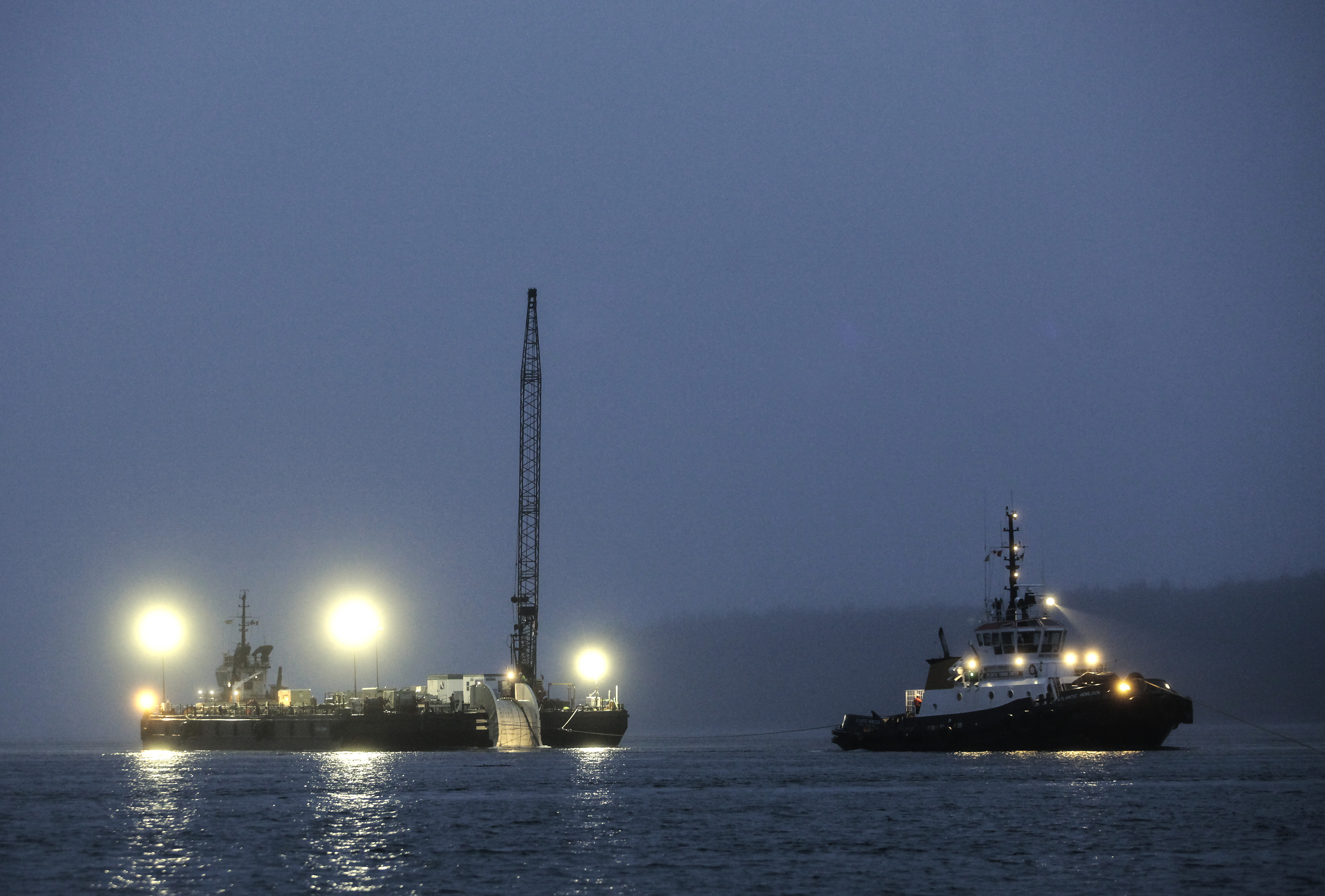 Cape Sharp Tidal Installs Subsea Connector Cable and Launches Scotia ...