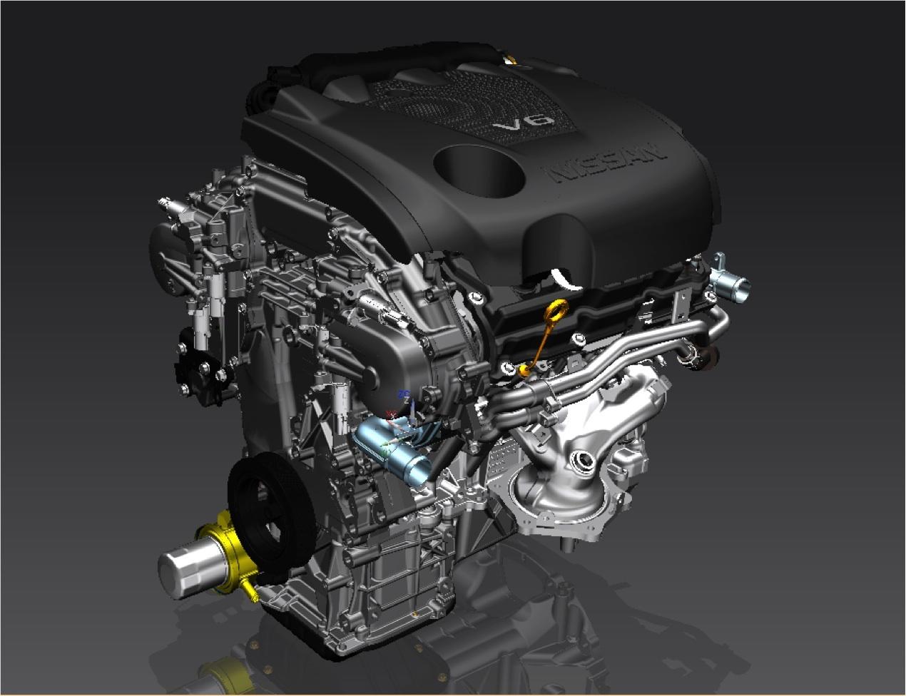 Nissan maxima engine size
