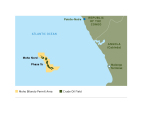 Phase 1b is located approximately 46 miles (75 km) off the coast of Pointe-Noire. (Graphic: Business Wire)