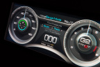 From video games to cars, Delphi is showing a 3D instrument cluster that brings multidimensional depth to flat screens. The graphics were first developed for Las Vegas slot machines. (Photo: Business Wire)