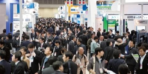 nano tech 2015会場風景 / 出展:1,300 企業・団体 / 来場:50,000名 / 参加国:50ヵ国 (写真:ビジネスワイヤ)