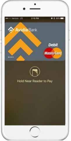 Apple Pay is now available to all Avidia Bank Credit Card and Debit Card Customers. (Photo: Business Wire)