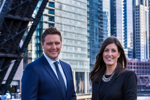 Joe Zimmerman and Mary Haight will co-lead the relaunch of the Keller Williams Realty Chicago Market Center. (Photo: Business Wire)