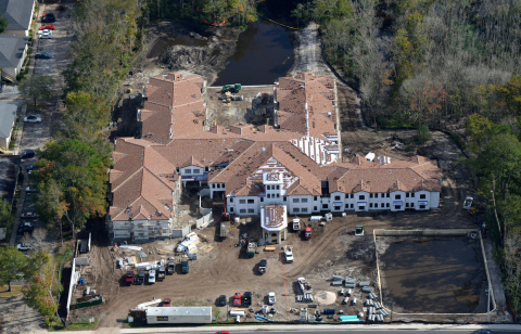 Watercrest of San Jose Assisted Living and Memory Care Community in Jacksonville Scheduled to Open Summer 2016 (Photo: Business Wire)