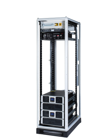 Power Rack Solution (PRS) UPS for small and medium companies by AEG Power Solutions (Photo: Business ...