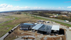 Aerial footage of the Bardstown Bourbon Company construction site in-progress