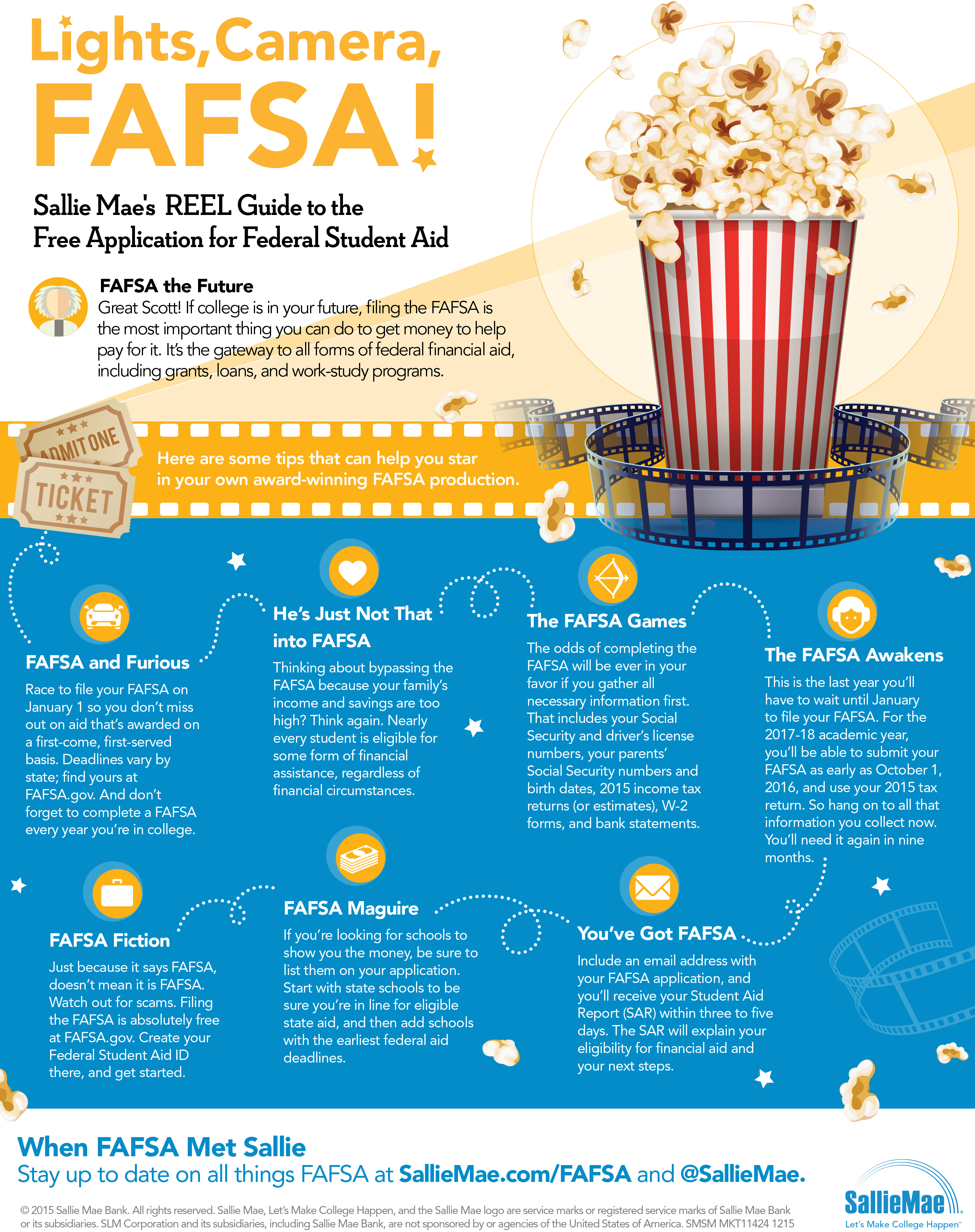 Lights, Camera, FAFSA! Sallie Mae Releases Movie-Inspired Tips to ...