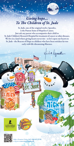 St. Nick's USA Today ad. (Graphic: Business Wire)
