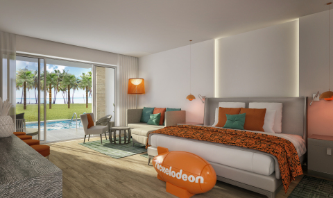 Room rendering at Nickelodeon Hotels & Resorts Punta Cana (Photo: Business Wire)