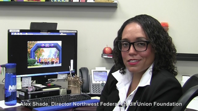 Alex Shade, Executive Director of the Northwest Federal Credit Union Foundation, discusses Northwest Federal's commitment to giving back to the community.