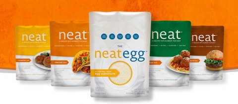 Neat® offers 100% all-natural, innovative gluten and soy-free vegetarian/vegan foods. (Photo: Business Wire)
