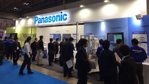 松下在2015年日本國際機器人展上的攤位(照片:美國商業資訊)