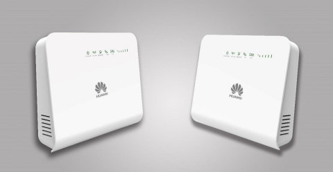 Huawei's 4X4 MIMO B5328 LTE Home Modem, powered by GCT's GDM7243Q LTE chip. (Photo: Business Wire)