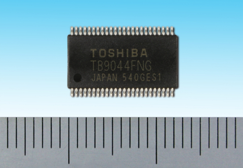 "Toshiba: ""TB9044FNG"", a general-purpose system power IC with multiple outputs achieving functional safety for automotive applications. (Photo: Business Wire)"