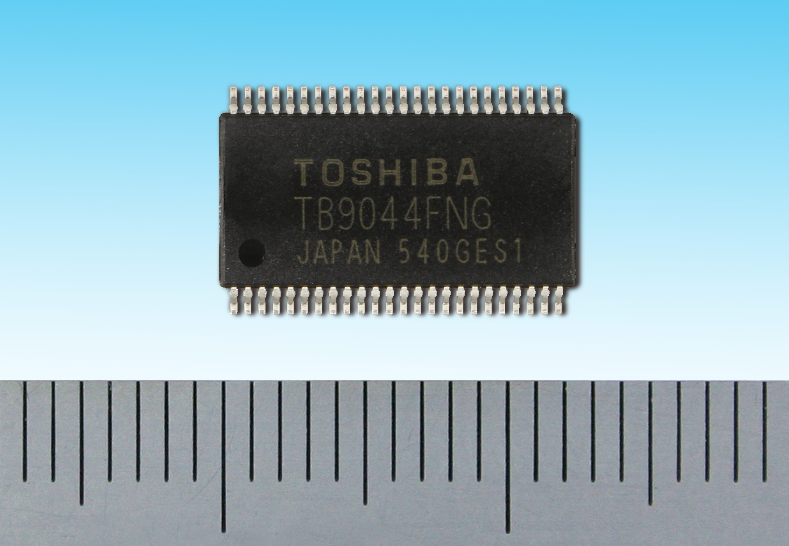"""Toshiba: """"TB9044FNG"""", a general-purpose system power IC with multiple outputs achieving functional safety for automotive applications. (Photo: Business Wire)"""