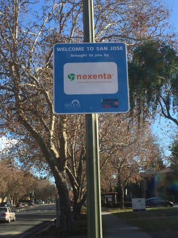 Nexenta's Gateway Sign (Photo: Business Wire)