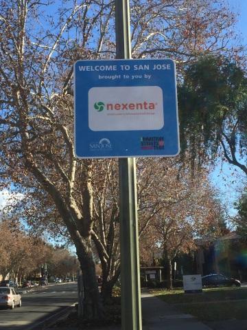 Nexenta's Gateway Sign (Photo: Business Wire)