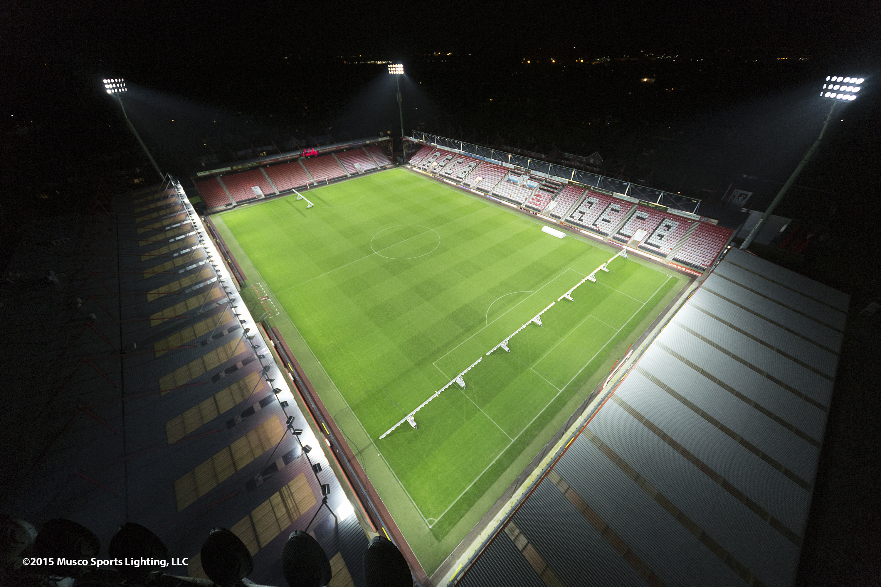 premier led lighting solutions. afc bournemouth enters premier league in fashion | business wire led lighting solutions a