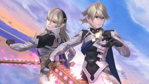 Launching as downloadable content planned for February 2016, Corrin from Fire Emblem Fates joins the roster of both Super Smash Bros. for Nintendo 3DS and Wii U. (Photo: Business Wire)