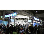 Panasonic booth at Eco-Products 2015 (Photo: Business Wire)
