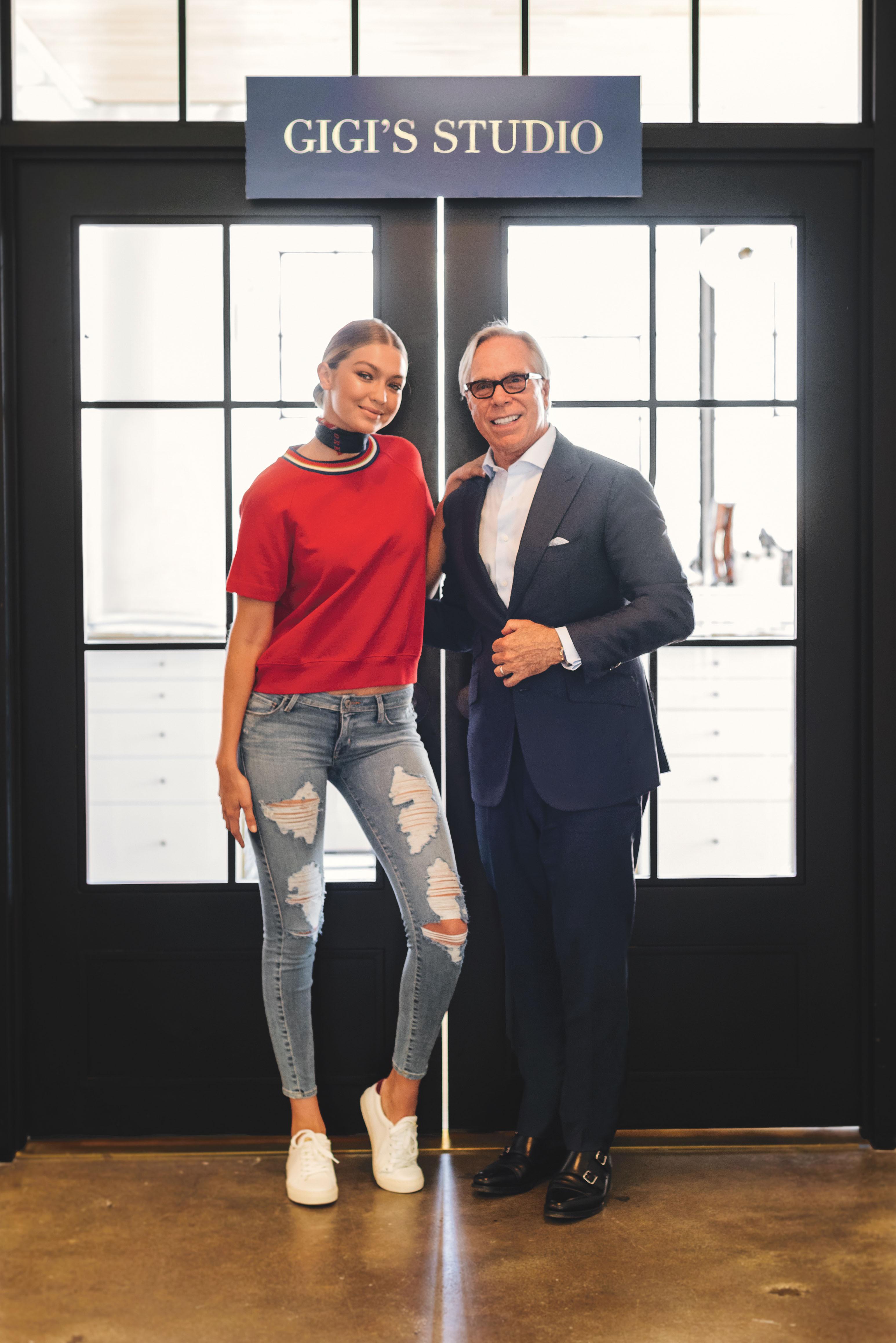 tommy hilfiger announces gigi hadid as global brand ambassador for tommy hilfiger business wire. Black Bedroom Furniture Sets. Home Design Ideas