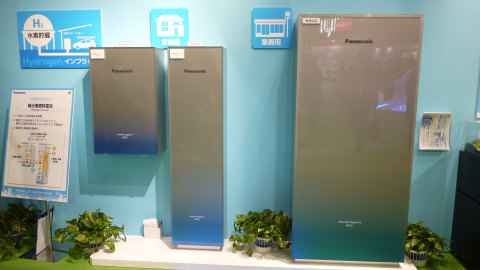 可直接由氫高效地產生能源的氫燃料電池(目前仍在開發中)原型(照片:美國商業資訊)