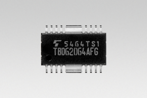 """Toshiba: """"TBD62064AFG"""", a DMOS FET transistor array with industry's first 1.5A sink-output driver. (Photo: Business Wire)"""