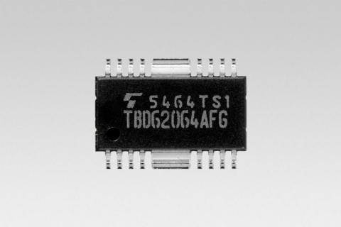 東芝:業界初、DMOS FET型1.5Aシンク出力のトランジスタ・アレイ「TBD62064AFG」(写真:ビジネスワイヤ)