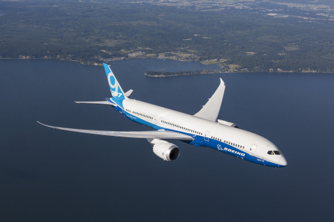 Lightweight metals leader Alcoa today announced long-term supply contracts with Boeing valued at over $2.5 billion. Alcoa will supply fastening systems for every Boeing platform and also will supply ready-to-install titanium seat track assemblies for the entire 787 Dreamliner family, which includes the 787-9, shown here. (Photo courtesy of Boeing)